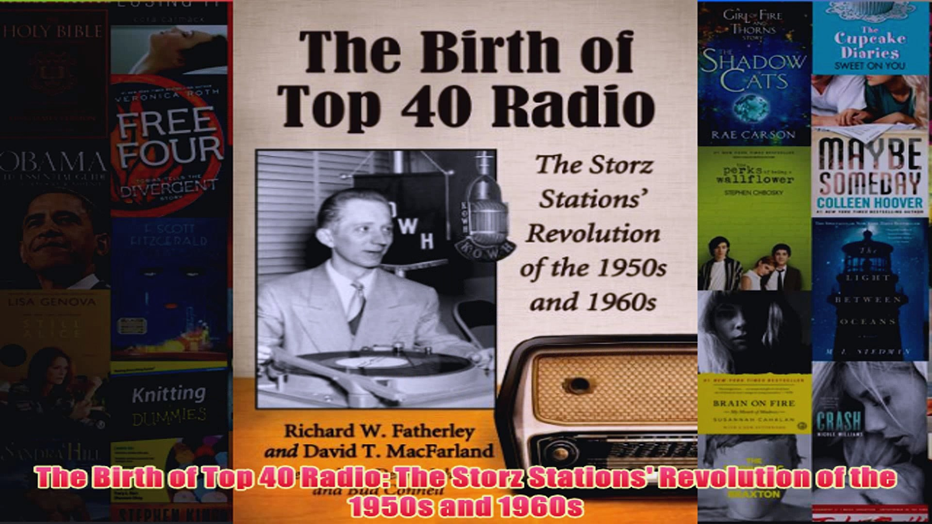 Download PDF  The Birth of Top 40 Radio The Storz Stations Revolution of the 1950s and 1960s FULL FR