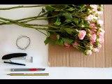 Мастер класс - Сердце из роз ----- Master Class - Heart of roses