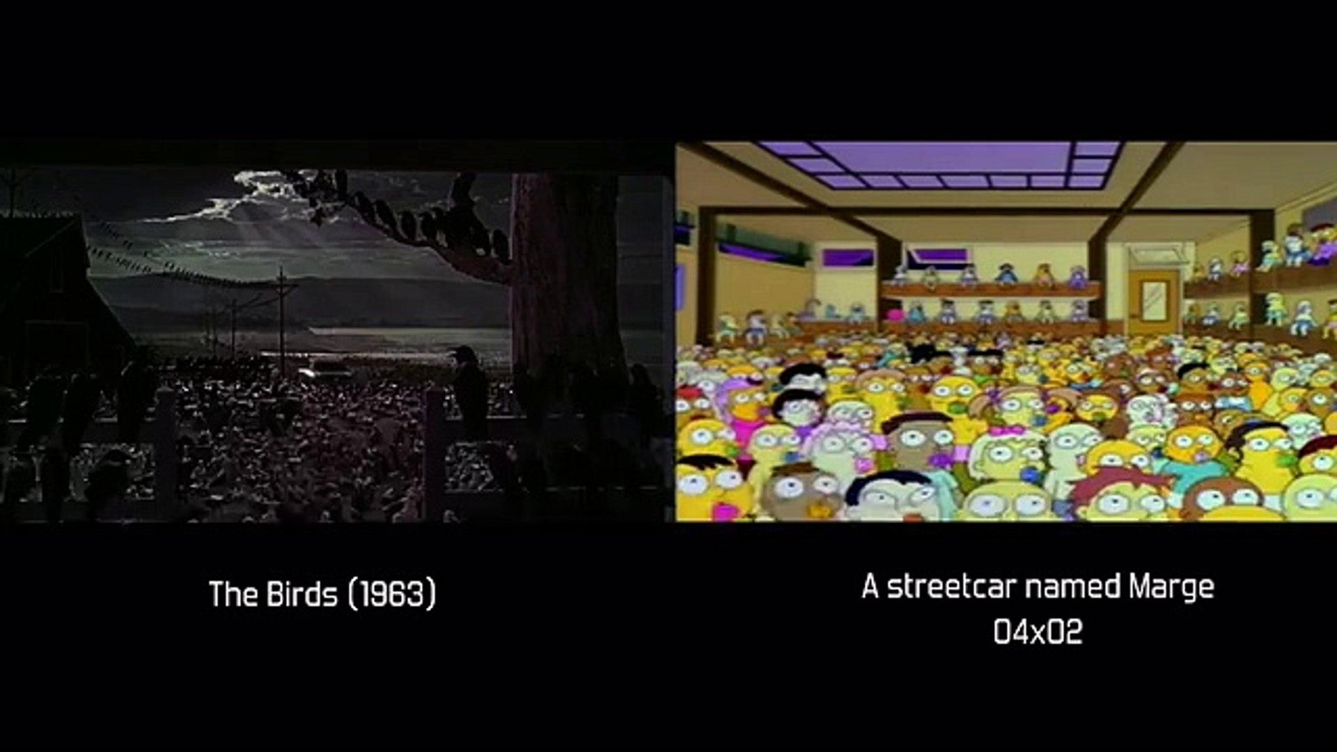 Les références de films dans les Simpsons