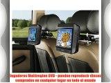 Nextbase Click 9 Lite - Reproductores de DVD portátiles con soporte para coche (pantalla de