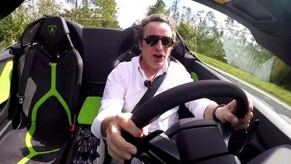 Lamborghini Huracan Spyder : nos impressions de conduite