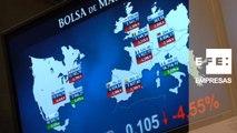 El Ibex 35 pierde los 7.900 puntos arrastrado por el miedo a una crisis financiera