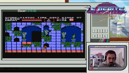 The Peritel Show starring Fred Of The Dead ! : Castlevania nes (7)