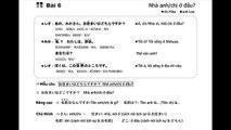 Cùng nhau học tiếng Nhật Japan in my love Bài 6 Đài NHK [やさしい日本語]