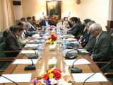Sindh CM chairs K-4 Project meeting with Governor Sindh (11-02-2016)