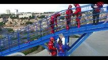 Journée de Cohésion ASBH avec les pompiers de Béziers