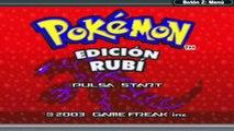 [GBA] Walkthrough - Pokemon Rubi Part 1