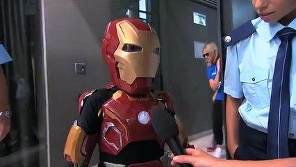 Tony Stark réalise le rêve d'un enfant malade