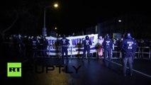 Une branche de Pegida fait face à une contre-manifestation à Potsdam