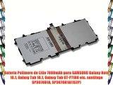Batería Polímero de Litio 7000mAh para SAMSUNG Galaxy Note 10.1 Galaxy Tab 10.1 Galaxy Tab