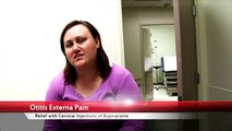 Otitis Externa Pain Relief with Cervical Injections
