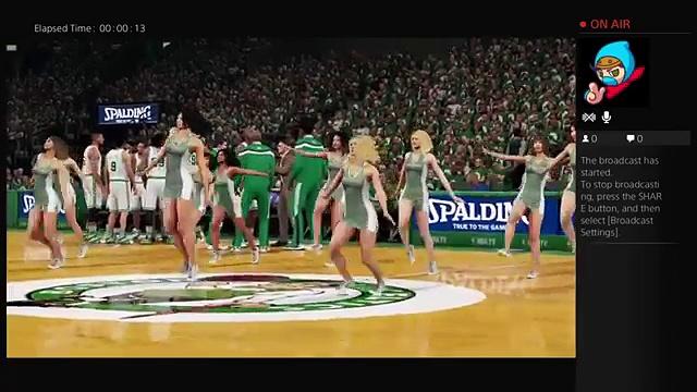 NBA 2K16 PS4 CFG1 VS Celtics P3 (News World)