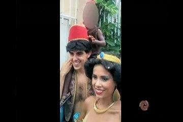 TV Verdade discute foto polêmica de pai com fantasia de Aladim