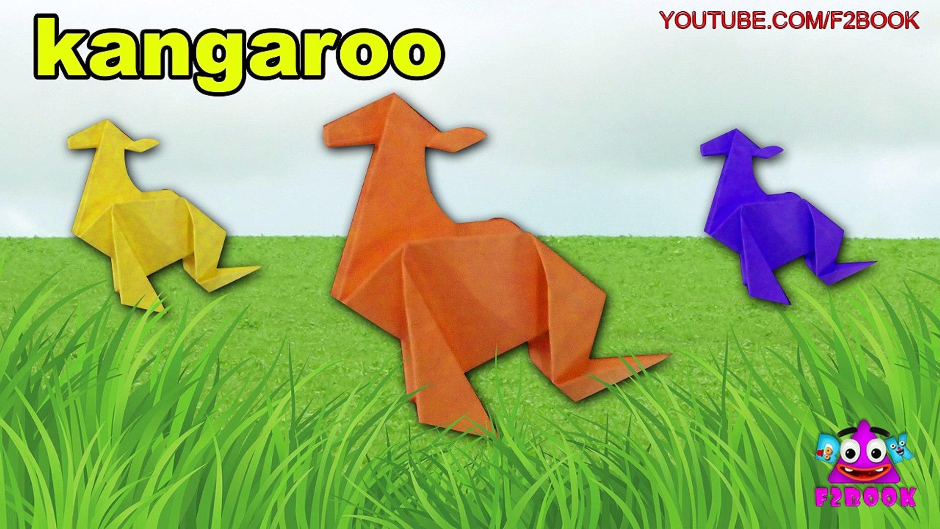 Origami Kangaroo by Peter Engel (Part 1 of 2) - YouTube | 1080x1920