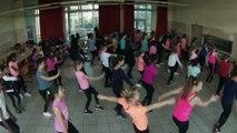 Flash Mob Uefa Euro2016 Collège Les cités unies de Combs la ville