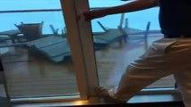 Tormenta causó temor en los pasajeros del crucero de Royal Caribbean