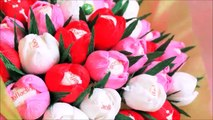 Чайные Розы канзаши из Лент -  Tea Roses kanzashi ribbons