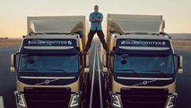 Volvo Trucks - The Epic Split feat. Van Damme (Live Test) (Funny Videos 720p)