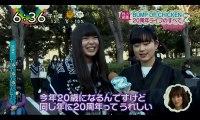 160212 ニュースまとめ [めざましテレビ、ZIP!] cut BUMP OF CHICKEN 20周年記念ライブレポ