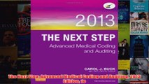 Download PDF  The Next Step Advanced Medical Coding and Auditing 2013 Edition 1e FULL FREE