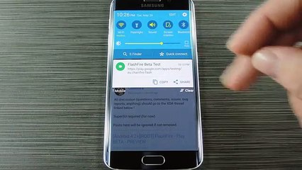 How to flash Samsung Galaxy S6 Without Tripping KNOX using