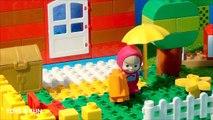 LEGO Masha and the bear (Маша и Медведь) Stop motion Animation. Maşa ile Koca