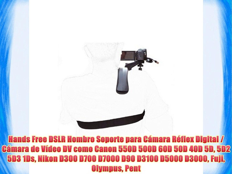 Hands Free DSLR Hombro Soporte para Cámara Réflex Digital / Cámara de Vídeo DV como Canon 550D