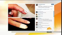 Chef Giada explains how she cut her finger on live TV Mail Online