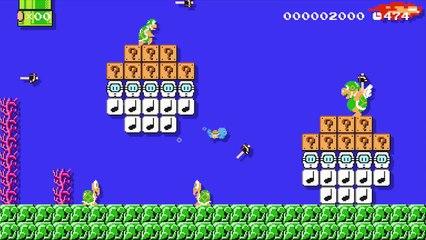 Super Mario Maker : Les Pokémon à l'assault de Super Mario Maker
