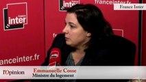 Notre-Dame-des Landes : Emmanuelle Cosse : « Je suis opposée à ce projet (...) et je changerai pas de point de vue. »