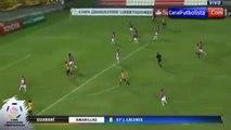 Increible golazo de Marcelo Palau Guaraní vs Ind Del Valle 2-1 Copa Libertadores 2016