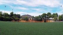 Video Messi'den Antrenmanda Şov_ İnanılmaz Bir Şutla Kamerayı Vurdu