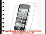 Zagg InvisibleShield - Protector de pantalla (Teléfono móvil/smartphone iPhone 4 4S)