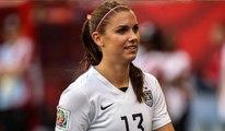 Alex Morgan marque le but le plus rapide au football féminin apres 12 secondes de jeu