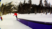 How To Backside 180 to Switch 50-50 to Half Cab Out With Eiki Helgason - TransWorld SNOWboarding