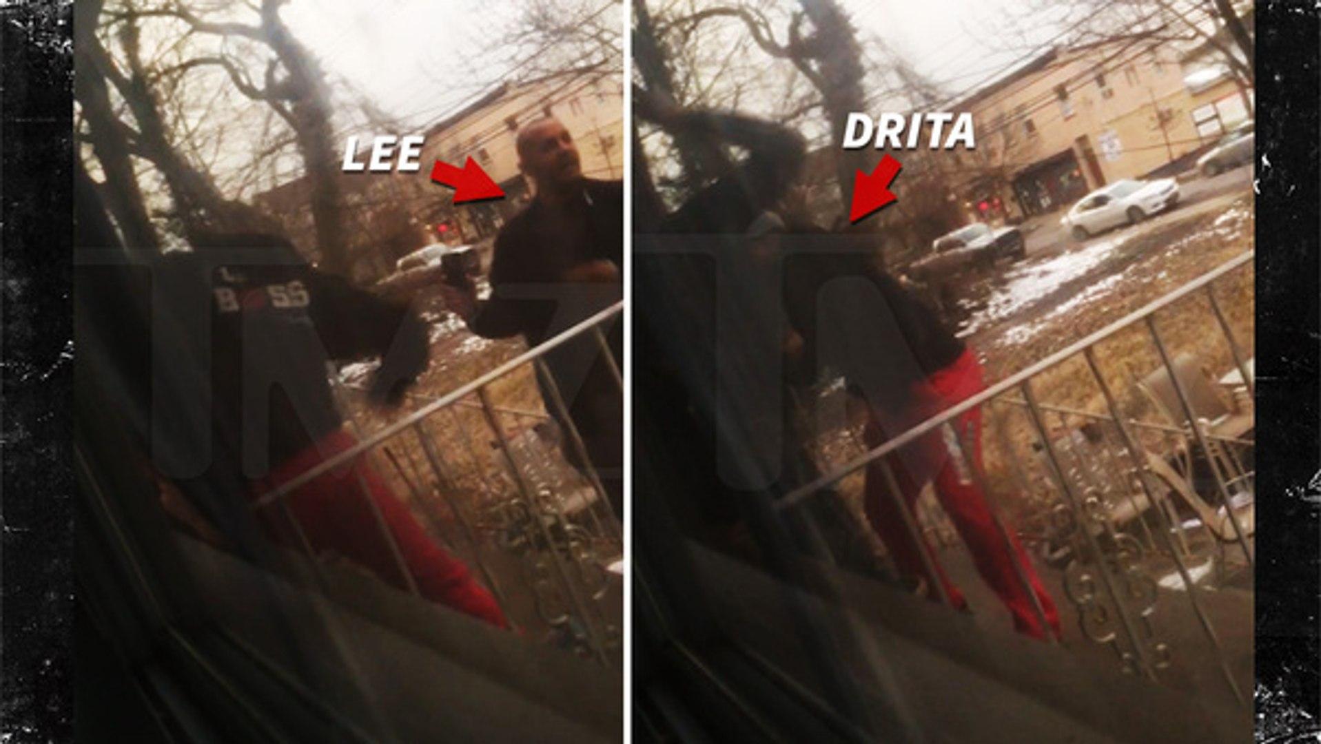Mob Wives' Drita D'Avanzo -- Beatdown Caught on Camera