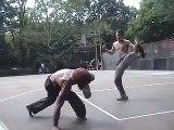 Martial Street Art  Capoeira Sparring