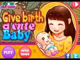 Give Birth a Cute Baby Mom Newborn Baby Games Fun Gameplay for Little Babies