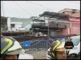 Quito: afectados por explosión esperan ayuda de las autoridades
