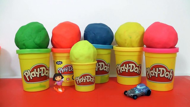 Many Play Doh Surprise Eggs Kinder Surprise Hello Kitty Masha i Medved