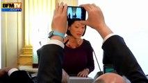Fleur Pellerin encense Valls dans son discours de passation et ignore François Hollande