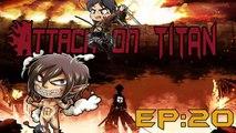 Attack on Titan Ep 20 (Shingeki No Kyojin) BreakDown -- Female Titan Traitor Escape