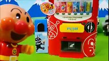 Rock paper scissors automatic vending machine toys with anpanman❤Anime Toy Kids toys kids animation