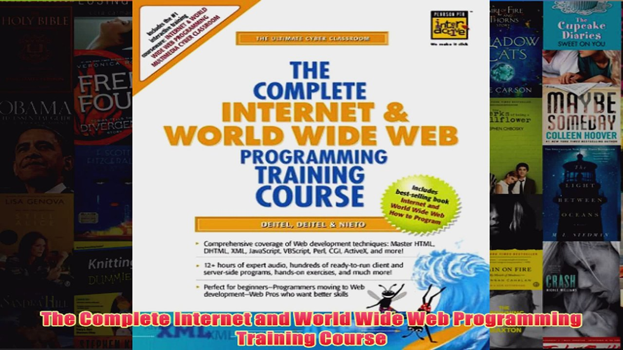 Download PDF The Complete Internet and World Wide Web Programming Training  Course FULL FREE