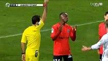 Carton Rouge pour Clement Lenglet AJ Auxerre 0-2 AS Nancy 12.02.2016