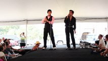 Austin Irby and Taylor Rodriguez sings 'Hound Dog' Elvis Week 2015