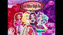 Ever After High - Ever After High Ball Ever After High Dress Up Game Episode