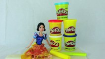 Play Doh Disney Princess Barbie Snow White Princess Dress Gown From Play-Doh on Barbie