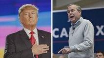 Donald Trump Mocks Jeb Bush Before 'W' Comes to Town
