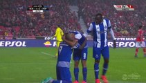 1-2 Vincent Aboubakar Goal Portugal  Primeira Liga - 12.02.2016, SL Benfica 1-2 FC Porto